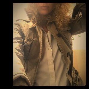Military jacket, vintage. Fits medium to large.